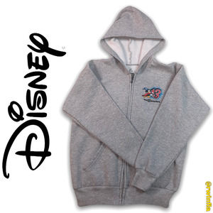 WDW Disney Park Zip Up Sweatshirt Hoodie Mickey L